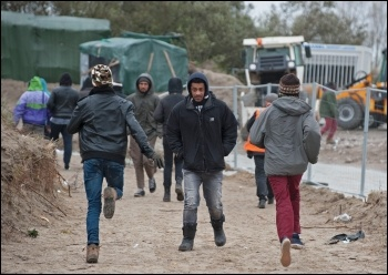 'The Jungle' camp in Calais, photo by Paul Mattsson