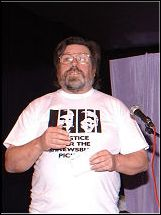 Ricky Tomlinson, photo Harry Smith