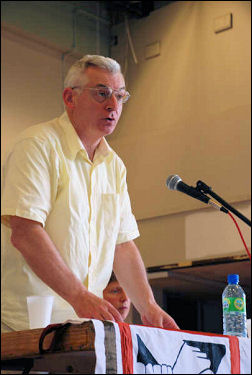 National Shop Stewards Network conference 2009, photo Suzanne Beishon