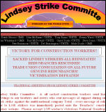 Lindsey Oil Refinery strike committee greetings