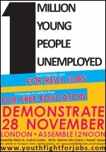 Youth Fight For Jobs leaflet