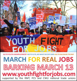 Youth Fight for Jobs  campaigns against unemployment