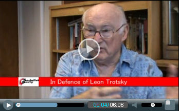 Peter Taaffe answers the Hoover institute video debate on Robert Service's book on Trotsky