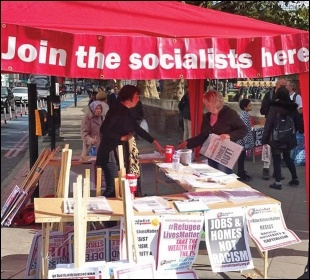 Finance is essential to producing campaign resources, photo Socialist Party