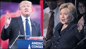 US presidential contenders Donald Trump and Hillary Clinton, photo by Gage Skidmore (Creative Commons)