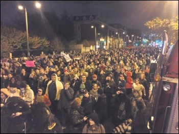 Philadelphia protest against Trump's victory called by Socialist Alternative