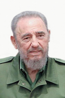 Fidel Castro, photo by Agência Brasil, Creative Commons