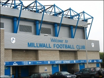 Millwall FC's home ground the Den in Lewisham, south London is under threat photo