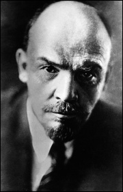 Vladimir Lenin, one of the central leaders of the 1917 Russian revolution, photo German Federal Archive (Creative Commons)