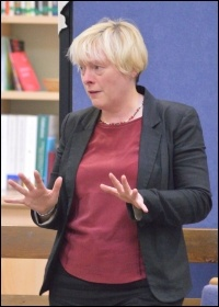 Right-wing Labour MP Angela Eagle, photo by Rwendland (Creative Commons)