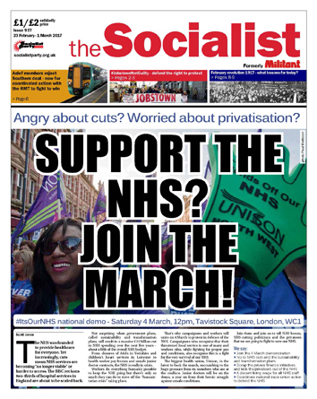 The Socialist issue 937
