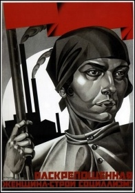 1920s Russian International Women's Day poster