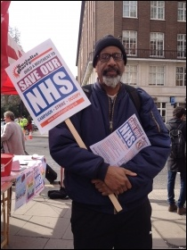 NHS demo, 4 March 2017