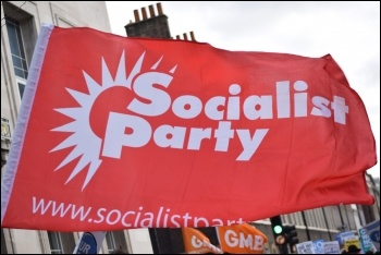 Join the Socialist Party, photo by Mary Finch