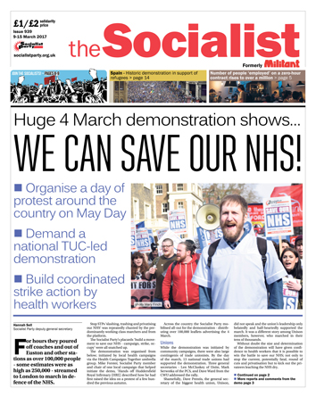 The Socialist issue 939