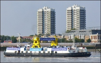 Woolwich ferry, photo BL2002/CC