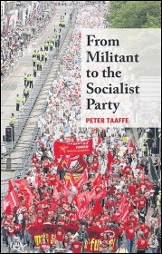 'From Militant to the Socialist Party' by Peter Taaffe, photo (Sarah Sachs-Eldridge)