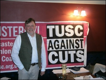 TUSC Doncaster mayoral candidate and NHS worker Steve Williams