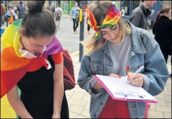 Leeds Pride 2017 was the youngest and most militant in some time, photo Mary Finch