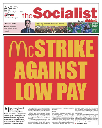 The Socialist issue 960