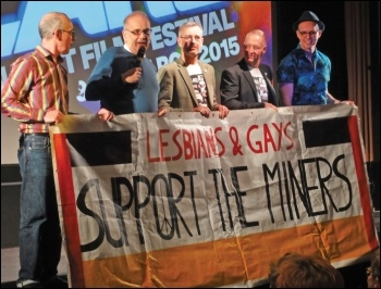 LGSM members in 2015, photo by Fae/CC