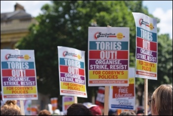 Tories out, photo Mary Finch