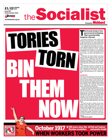 The Socialist issue 967