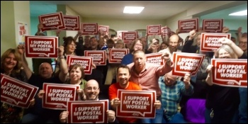 NSSN solidarity meeting in Birmingham 21 October 2017, photo NSSN