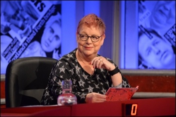 Jo Brand silenced Ian Hislop's sexist sniggers on BBC's 'Have I Got News for You'