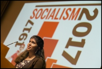 Isai Priya, Socialism 2017, photo Paul Mattsson