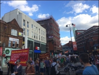 HDV protest 3 July 2017