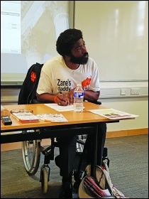 Zane's father Kye was paralysed in the toxic incident that killed Zane