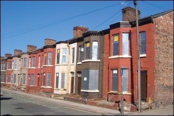 Empty homes in Liverpool, photo by Derek Harper/CC