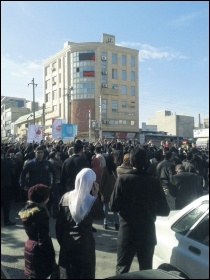 Young people and workers have taken to the streets against Iran's theocratic regime