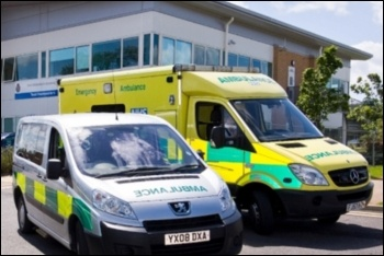 Small charities vulnerable to collapse have stepped in to cover the gaps left by NHS cuts, photo by EMAS NHS Trust (CC)