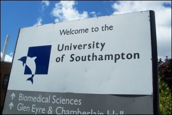 The head of Southampton Uni pays himself over £400,000 - and wants to sack 50 lecturers, photo by Carlesmari (CC)