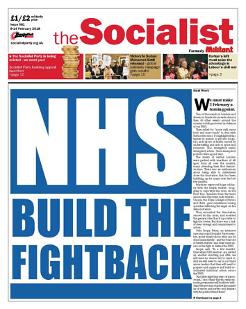 The Socialist issue 981