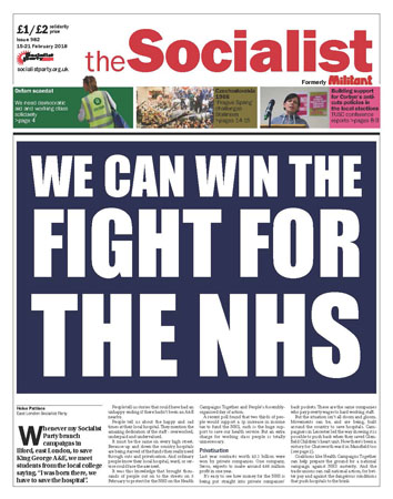 The Socialist issue 982