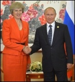 Putin and May, photo CC www.kremlin.ru