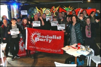 Socialist Party Northern region conference, 25.3.18, photo by Nick Fray