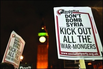 Don't bomb Syria!, photo by Paul Mattsson