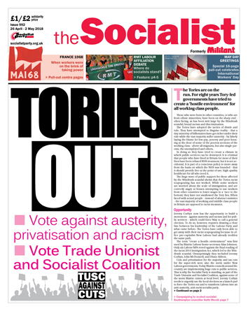 The Socialist issue 992