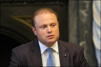 Joseph Muscat, Labour prime minister of Malta, photo by Foreign and Commonwealth Office/CC