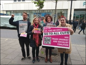 TUSC May 2018 campaigning