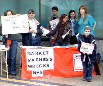 Coventry Socialist Party campaigning