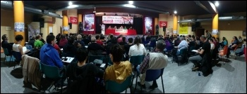 Izquierda Revolucionaria conference May 2018, photo IR