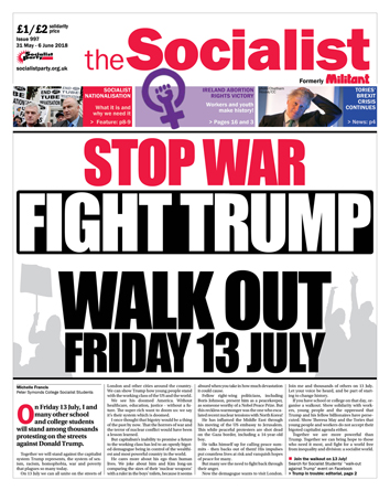 The Socialist issue 997