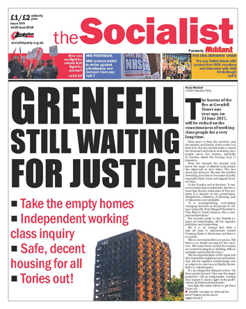 The Socialist issue 999