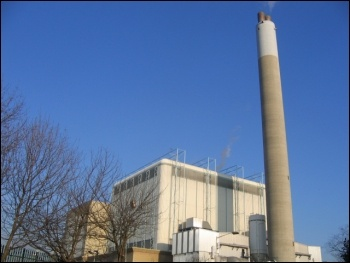 photo Stephen Craven / SELCHP incinerator / power plant, Rotherhithe / CC BY-SA 2.0