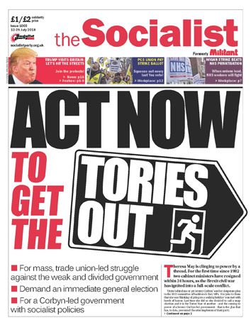 The Socialist issue 1003